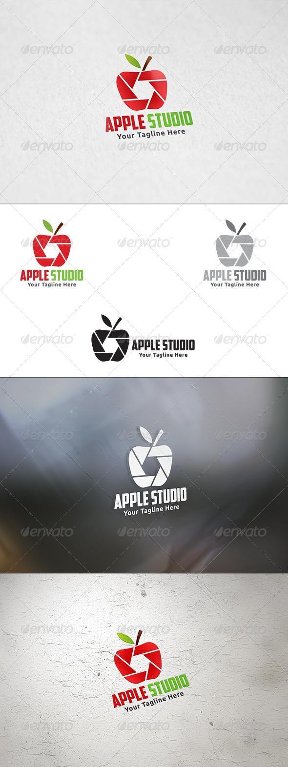 Apple Studio - Logo Template