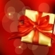 Gift Box with Ribbon and Bow - GraphicRiver Item for Sale