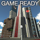 Game Ready Modular Sci-Fi City Kit - 3DOcean Item for Sale