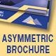 Asymmetric Trifold Brochure - Horizontal - GraphicRiver Item for Sale