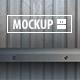 12 Shelf Mockups Set - GraphicRiver Item for Sale
