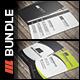 Business Card Bundle Vol 4 - GraphicRiver Item for Sale