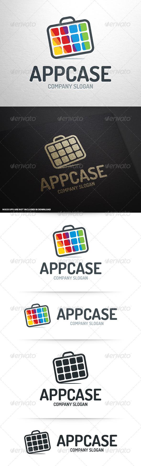 App Case Logo Template