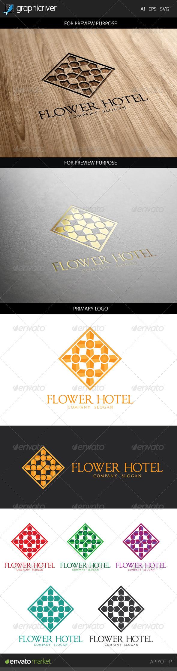 Flower Hotel Logo