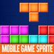 Tetris Mobile Game Sprite - GraphicRiver Item for Sale