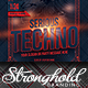 Download Serious Techno Nightclub Event Flyer Template from GraphicRiver