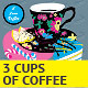 Elegant Cup of Coffee Card - GraphicRiver Item for Sale