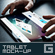 Photorealistic Tablet Mock-Up - GraphicRiver Item for Sale