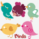 Vintage Birds - GraphicRiver Item for Sale