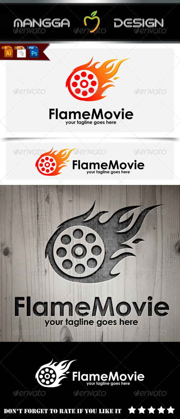 Flame Movie Logo