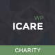 Charity WordPress Theme | ICARE - ThemeForest Item for Sale