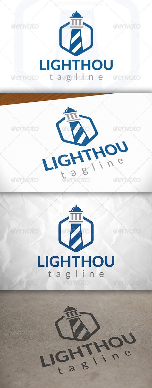 Cube Lighthouse Logo