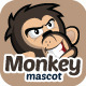Monkey Mascot - GraphicRiver Item for Sale