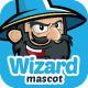 Wizard Mascot - GraphicRiver Item for Sale