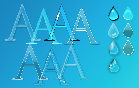 7 Glass Styles for Photoshop