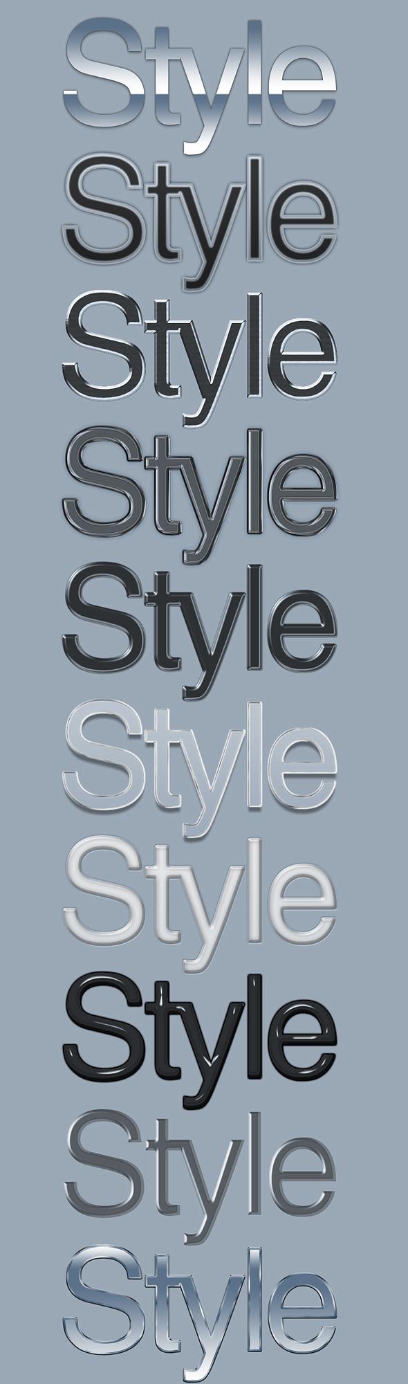 10 Elegant Text Styles