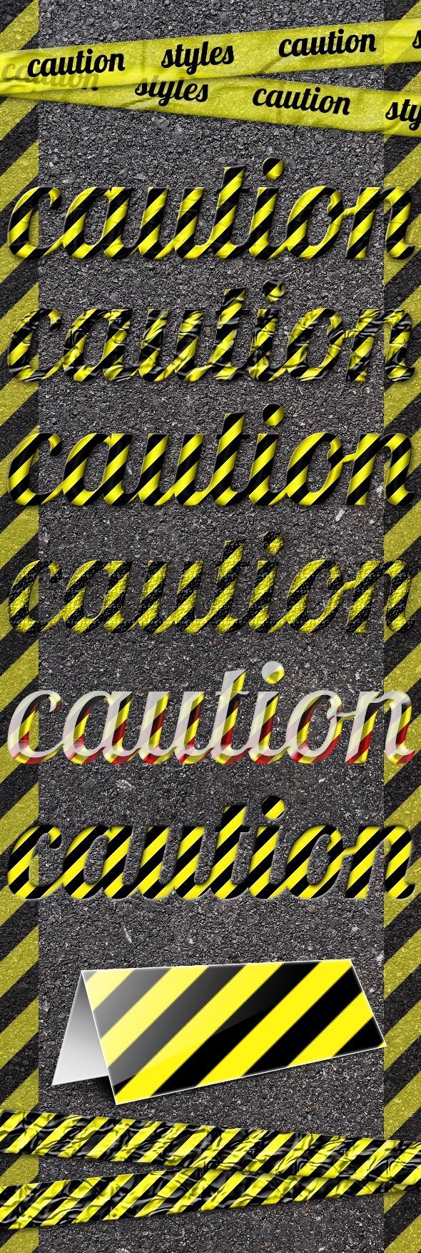 Caution Styles