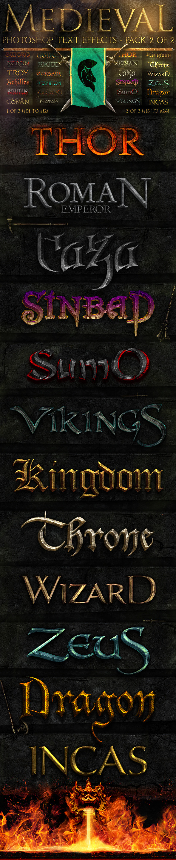 Graphicriver | Medieval Photoshop Text Effects 2 of 2 Free Download free download Graphicriver | Medieval Photoshop Text Effects 2 of 2 Free Download nulled Graphicriver | Medieval Photoshop Text Effects 2 of 2 Free Download