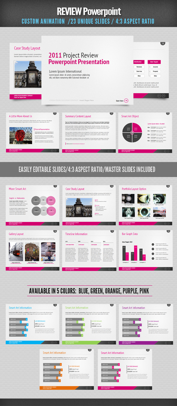 Review Presentation Templates From Graphicriver