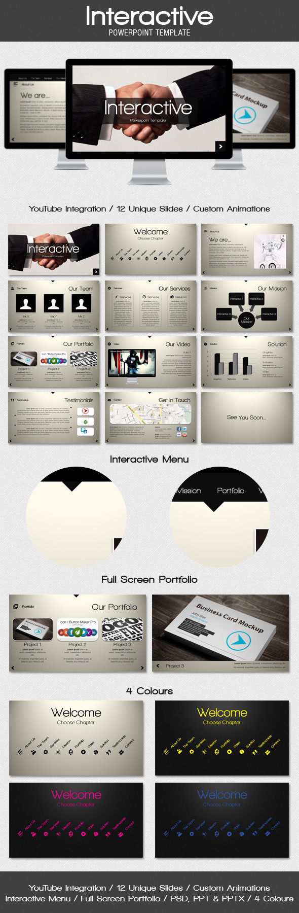 Interactive Presentation Templates from GraphicRiver