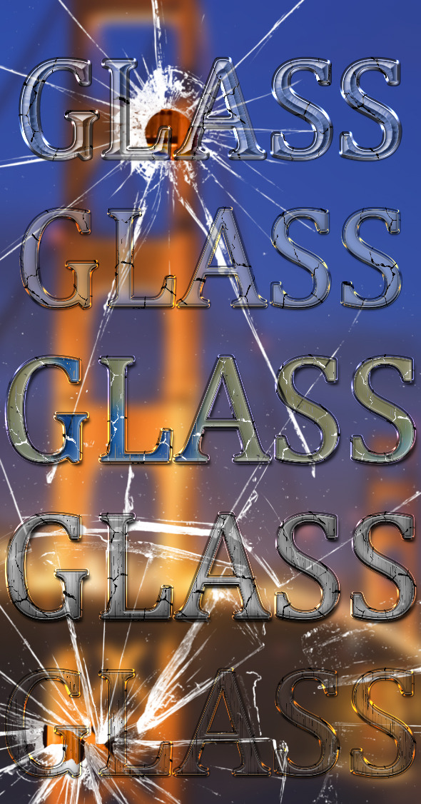 Cracked Glass Styles
