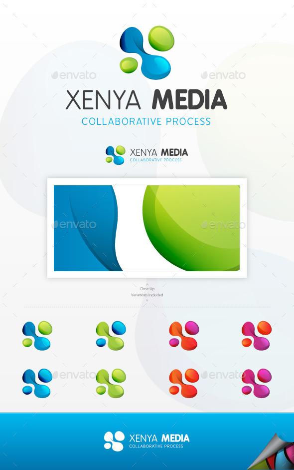 Xenya Media Logo