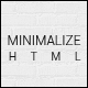 Minimalize | Multipurpose OnePage HTML Template - ThemeForest Item for Sale