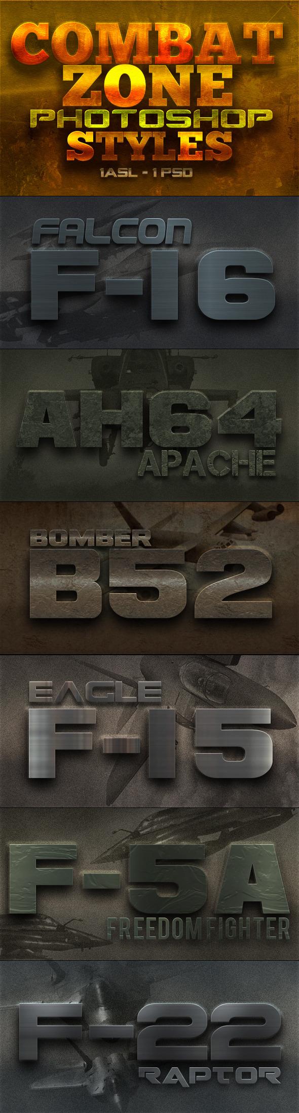 Combat Zone Styles