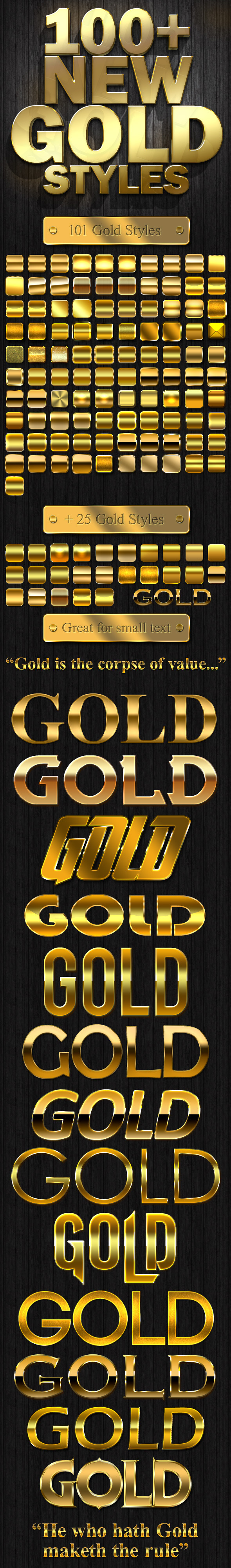 Graphicriver | 100+ New Gold Styles Free Download free download Graphicriver | 100+ New Gold Styles Free Download nulled Graphicriver | 100+ New Gold Styles Free Download