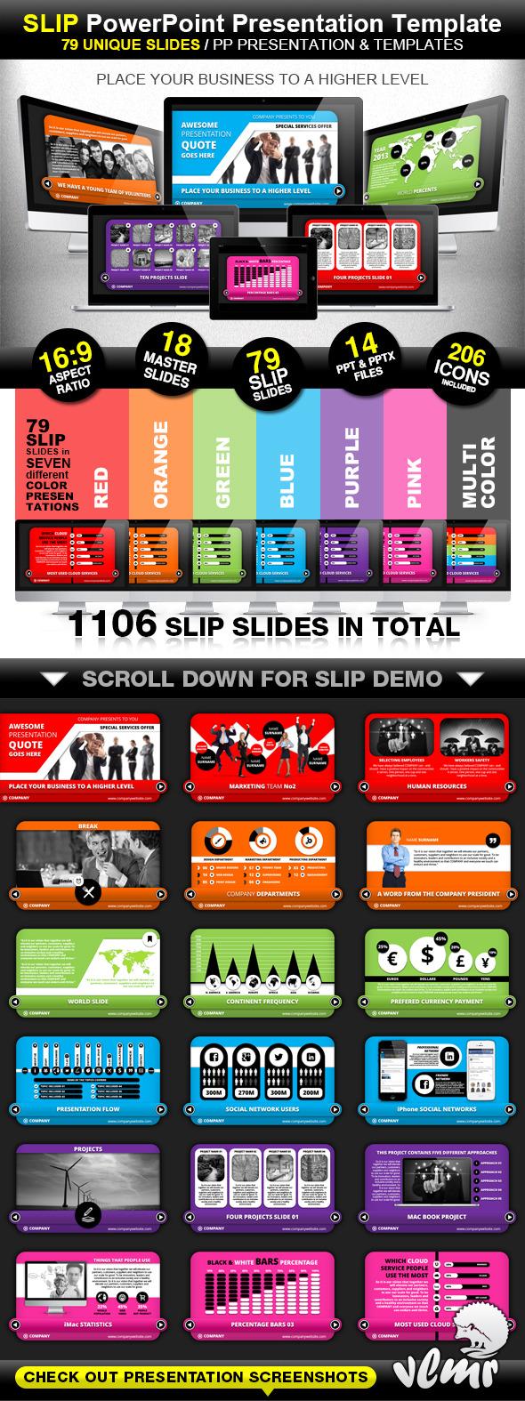 Slip Company PowerPoint Presentation Template
