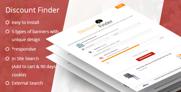 ADF - Amazon Discount Finder for WordPress