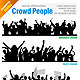 Crowd People Vector - GraphicRiver Item for Sale