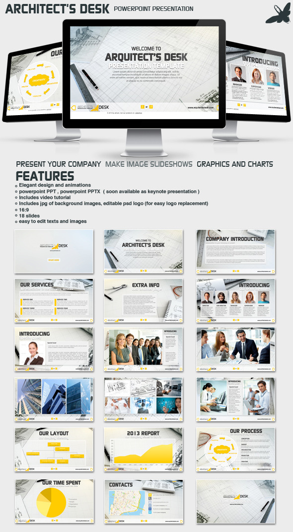 Architecture Presentation Templates from GraphicRiver