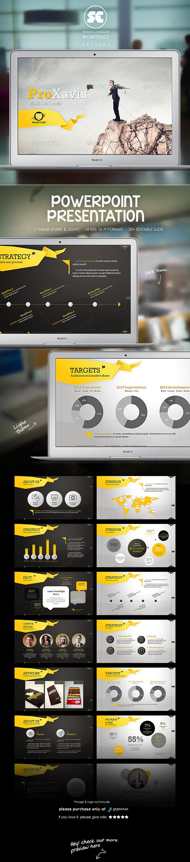 ProXavis : Modern Corporate Presentation