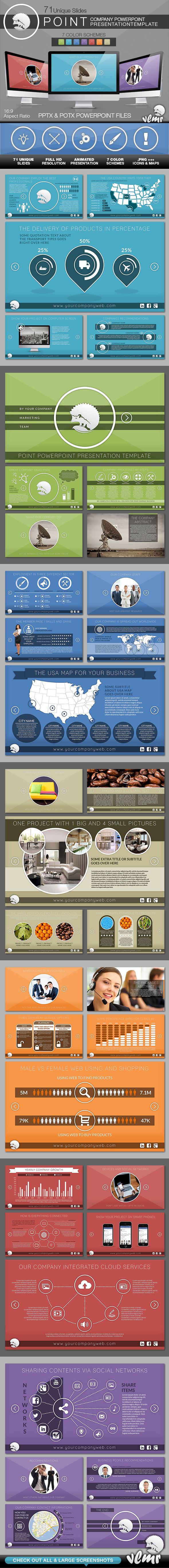 Point Company PowerPoint Presentation Template