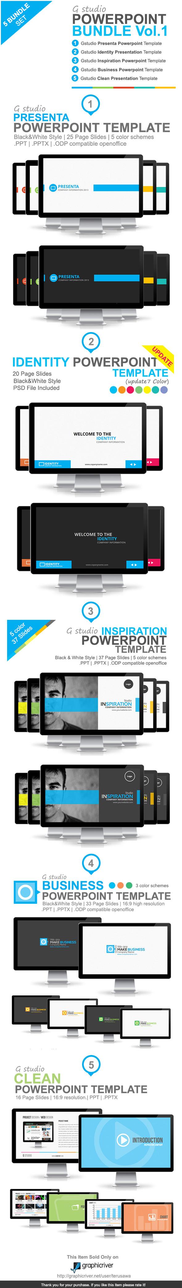 Gstudio Powerpoint Bundle Vol.1