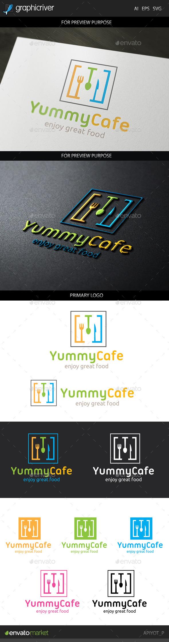 Yummy Cafe Logo