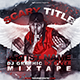 Red Hip Hop / Rap Mixtape Album CD Cover Template - GraphicRiver Item for Sale