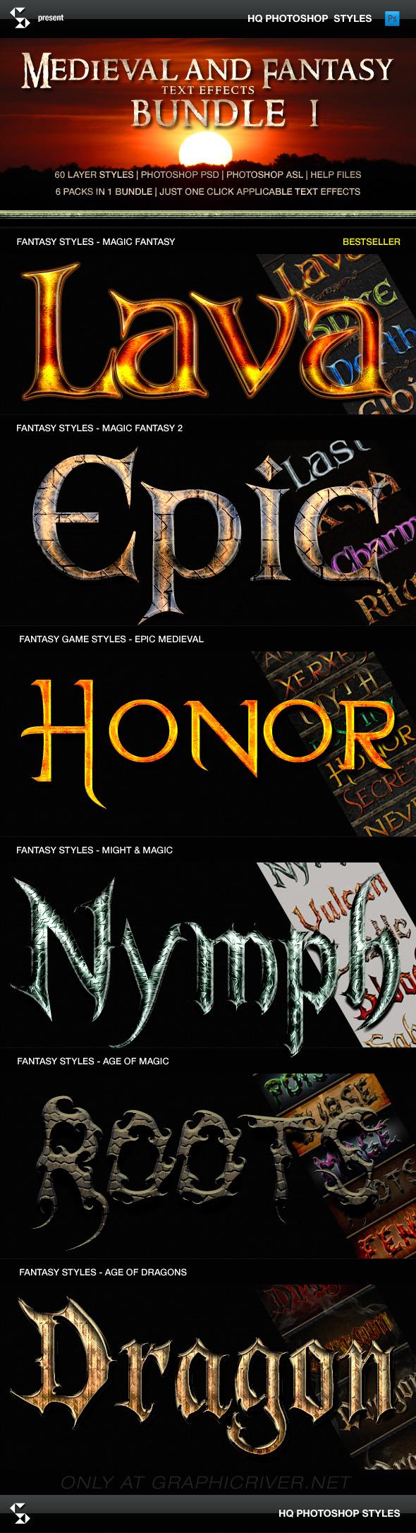 Fantasy Styles Bundle - Magic Fantasy Collection