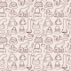Women Handbags Seamless Pattern - GraphicRiver Item for Sale