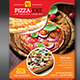 Abstract Pizza Store Flyer  - GraphicRiver Item for Sale