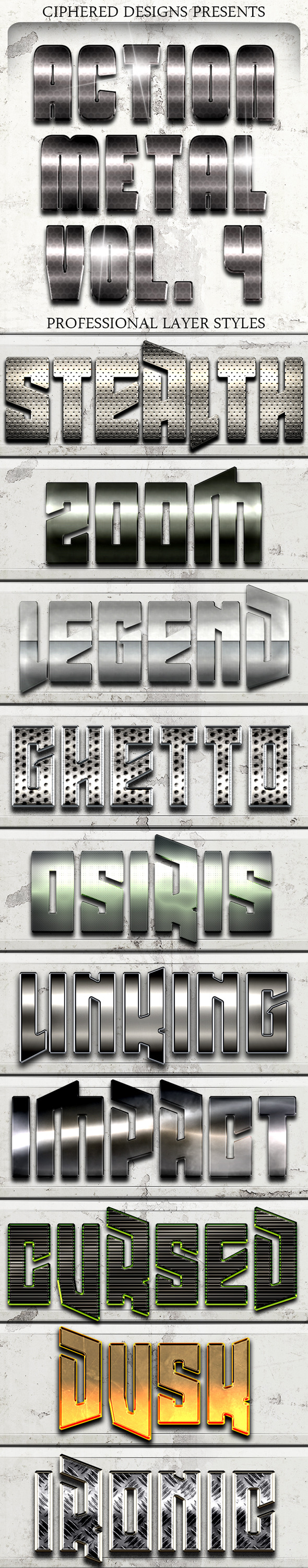 Action Metal 04 - Pro Text Effects
