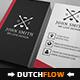 Portret Modern Business Card 1 - GraphicRiver Item for Sale