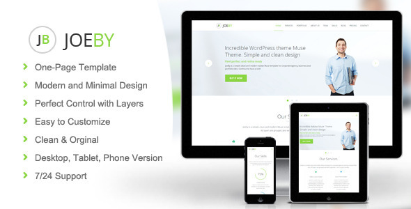 Joeby - Business Muse Template