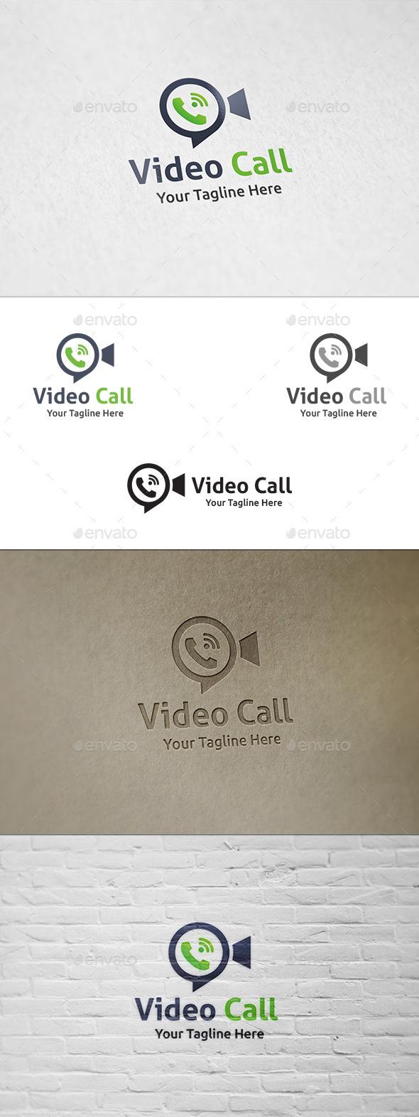 Video Call - Logo Template