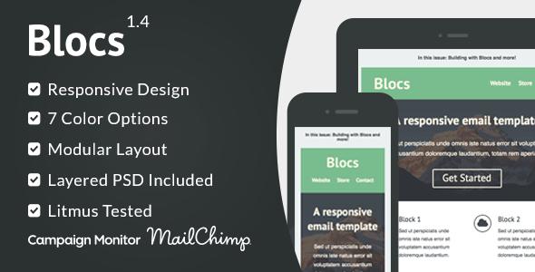 Blocs - Responsive Email Template