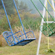 Swinging empty colored swings - VideoHive Item for Sale