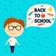 Young Boy Back to School - GraphicRiver Item for Sale