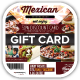 Mexican Restaurant Promotion Gift Vouchers - GraphicRiver Item for Sale