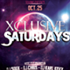 Xclusive Saturdays Party Flyer - GraphicRiver Item for Sale